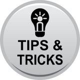 Uiteinden en trucswebknoop stock illustratie