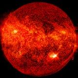 Uiterst hete ster Vloeibaar plasma Elementen van dit die beeld door NASA wordt geleverd royalty-vrije stock foto