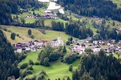 Uiterst klein Bergdorp Royalty-vrije Stock Afbeelding