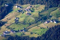Uiterst klein Bergdorp Royalty-vrije Stock Foto's
