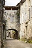 Uiterst klein dorp in Zuidelijk Frankrijk Royalty-vrije Stock Fotografie