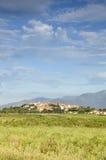 Uiterst klein dorp in Zuidelijk Spanje Royalty-vrije Stock Afbeeldingen