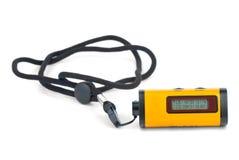 Uiterst klein GPS ontvanger-registreerapparaat apparaat stock foto's