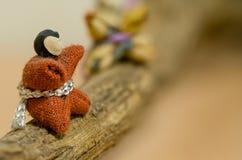 Uiterst klein Japans Doll Stock Foto's