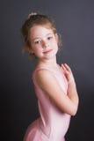 Uiterst kleine Ballerina Royalty-vrije Stock Fotografie