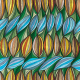 Uiterst kleine naadloze patroon van de gordijn het verticale lijn royalty-vrije illustratie
