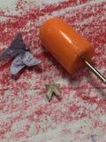 Uiterst kleine origamivlinders Royalty-vrije Stock Foto's