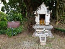 Uiterst kleine tempel in Thailand Royalty-vrije Stock Foto's
