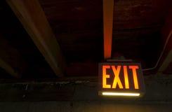 Uitgang van Donkere Kelder stock fotografie