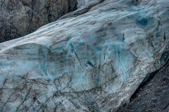 Uitgangsgletsjer in Seward in Alaska de Verenigde Staten van Amerika Royalty-vrije Stock Afbeeldingen