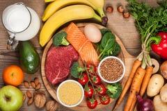 Uitgebalanceerd dieet royalty-vrije stock afbeelding