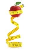 Uitgebalanceerd dieet met vruchten royalty-vrije stock foto's