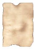 Uitgebrand document 2 Royalty-vrije Illustratie