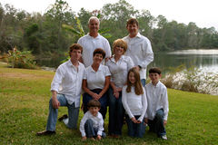 Uitgebreide familie Royalty-vrije Stock Afbeeldingen