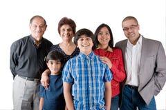 Uitgebreide Indische Familie Royalty-vrije Stock Afbeelding