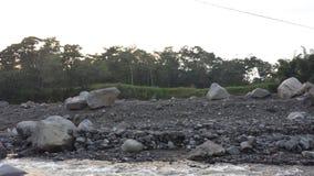 Uitgedroogde bijna Guatemalaanse rivier Stock Fotografie