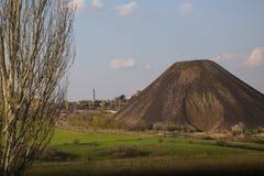 Uitgegraven gronduiteinde Stock Foto