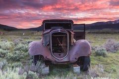 Uitgeput voertuig Stock Foto's