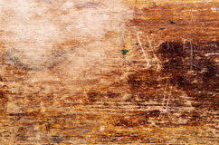 Uitgeputte houten oppervlakte Royalty-vrije Stock Fotografie