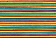 Uitgerekte kleurenelastiekjes Stock Foto
