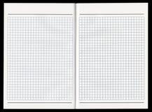 Uitgespreid notitieboekje Royalty-vrije Stock Fotografie
