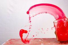 Uitgespreide kleuren Stock Fotografie