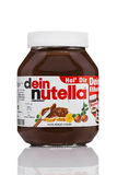 Uitgespreide Nutellahazelnoot Royalty-vrije Stock Foto's