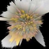 Uitgespreide pastelkleuren stock illustratie