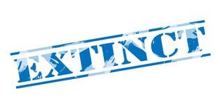 Uitgestorven blauwe zegel vector illustratie