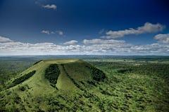 Uitgestorven Vulkaan royalty-vrije stock afbeeldingen