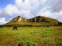 Uitgestorven Vulkaan Stock Foto's