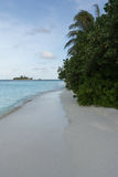 Uitgestoten strand royalty-vrije stock foto