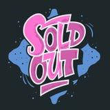 Uitgever*kopte de Douane van de Graffitistijl Artistieke het Van letters voorzien Typografie Ve Stock Afbeelding