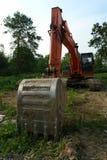 Uitgraving Stock Fotografie