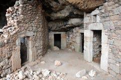 Uitgravingen royalty-vrije stock foto