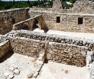 Uitgravingen in Cyprus royalty-vrije stock fotografie