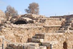 Uitgravingen van de oude stad stock foto's