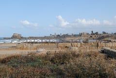 Uitgravingen van de oude stad stock afbeeldingen