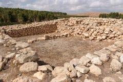 Uitgravingen van de oude tempel Royalty-vrije Stock Foto's
