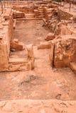 Uitgravingen van Malia-paleis royalty-vrije stock afbeelding