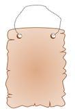 Uithangbord vector illustratie