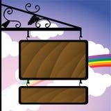 Uithangbord Stock Foto's