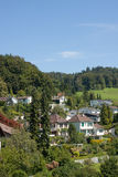 Uitikon. A suburb of Zurich, Switzerland in summer Stock Images