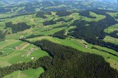 Uitlopers van de Zwitserse alpen Royalty-vrije Stock Foto