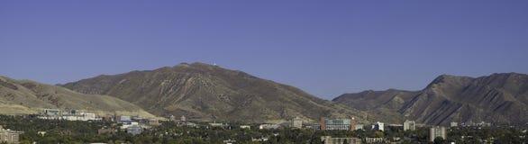 Uitlopers van Salt Lake City Stock Foto's