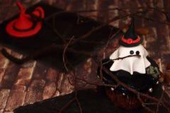 Uitnodiging voor Halloween - Spook Stock Foto