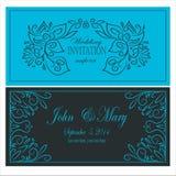 Uitnodiging voor het huwelijk Royalty-vrije Stock Foto
