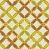 Uitstekend abstract naadloos patroon Royalty-vrije Stock Afbeeldingen