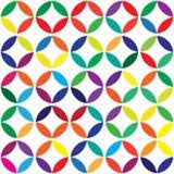 Uitstekend abstract naadloos patroon Stock Afbeeldingen