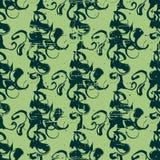 Uitstekend abstract patroon stock illustratie
